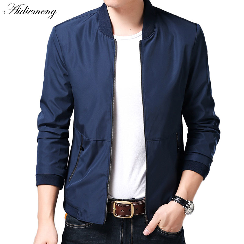 Jacket Men 2018 Spring Casual Jacket Coat Mens Jackets Fashion Men Windbreaker Male Jacket Coat For Men Outwear