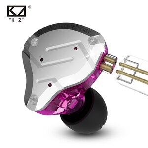 Image 3 - KZ ZS10 PRO 1DD 4BA HIFI cuffie In metallo ibrido In Ear auricolare Sport cuffie con cancellazione del rumore ZSN PRO ZST AS12 AS16 ES4 V80 T2 S2
