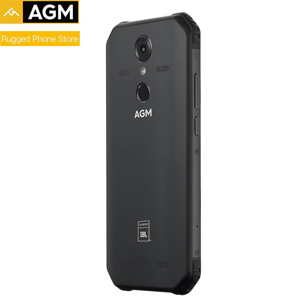 AGM A9 IP68 étanche téléphone robuste 5.99 HD 18:9 4GB RAM 32GB ROM SDM450 Octa Core 5400mAh empreinte digitale type c NFC - 3