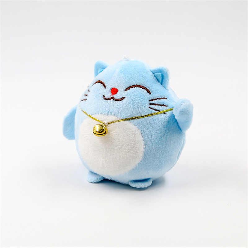 מתוק חתול 10CM Keychain בפלאש ממולא צעצוע בובת, מפתח שרשרת חתונה זר צעצוע מתנת בובה