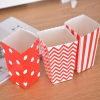 Favor Candy Treat Popcorn Boxes For Wedding Party Supply Baby Shower Decoration Christmas Birthday Party Gifts 48 Pieces
