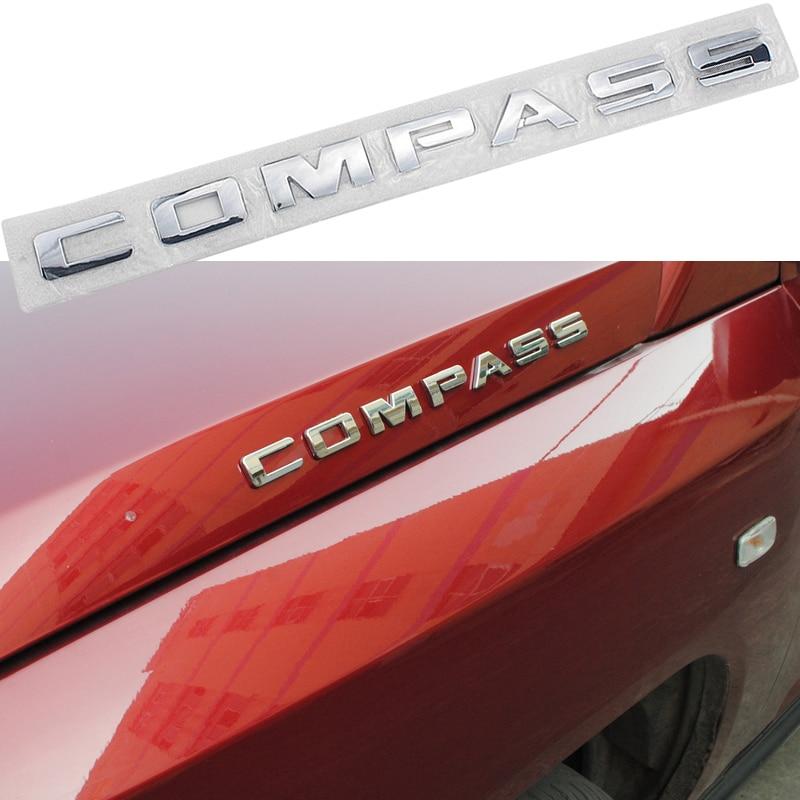 3D ABS наклейка на багажник автомобильной двери с компасом значок кузова декоративная отделка Аксессуары для замены