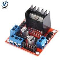 Двойной H Мост шаговый двигатель постоянного тока контроллер платы Модуль L298N для Arduino двухканальный
