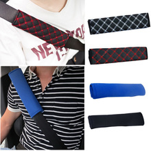 TOSPRA Universal Car Auto Safety Seat Belt Pillow Shoulder Pad Cover Belts Protection Cushion 1 Pair Car-styling