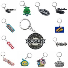 Personalized Customization PVC Key chains Your Own Design Logo Custom Design Key Ring Keychain for Wholesale