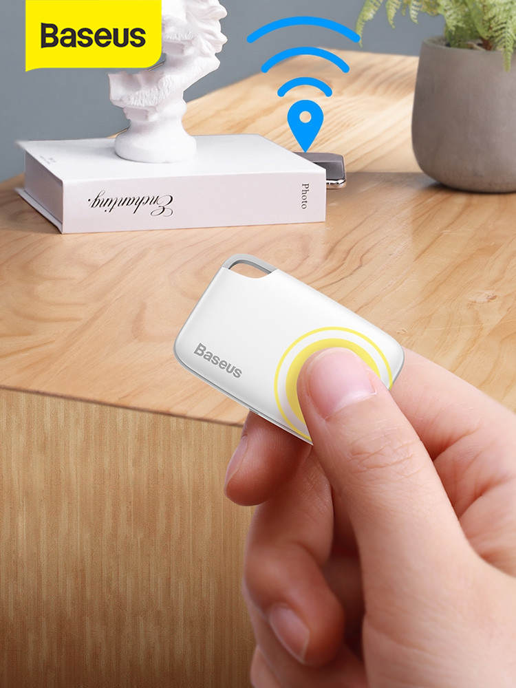 Wallet Finder Tracker Bag Alarm-Tag Baseus Anti-Lost Wireless Child APP Gps-Record