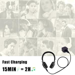 Image 5 - J B L cable de carga para auriculares, CABLE de carga USB de 2,5mm, color negro, 3 pies, 100CM