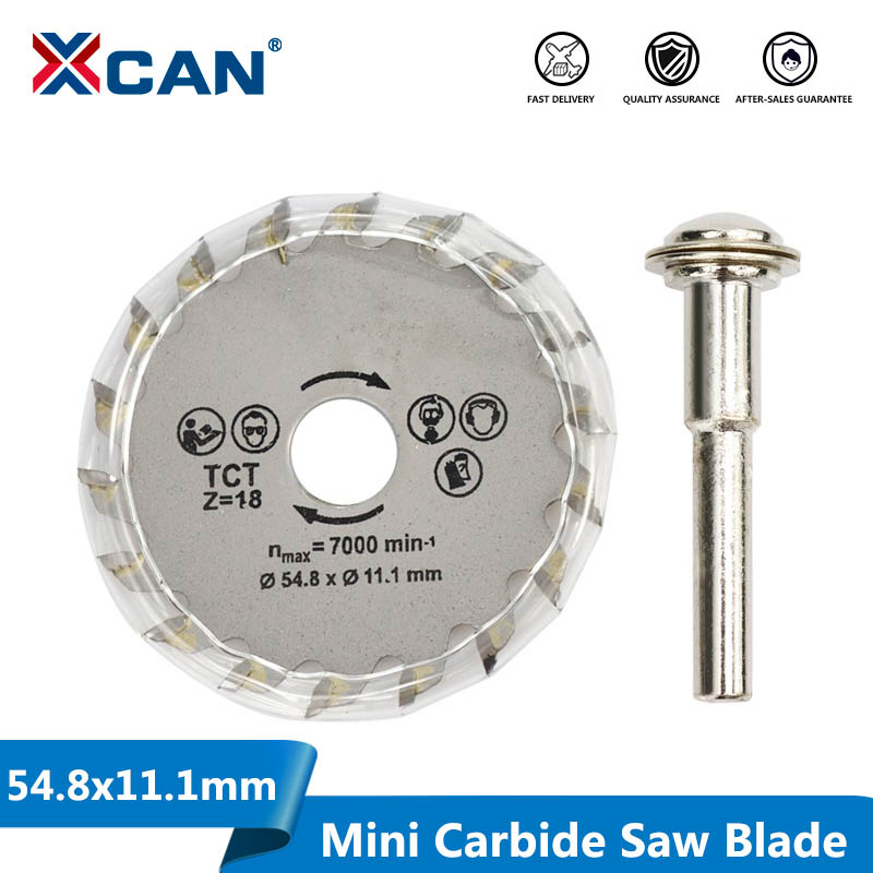 1pcs 54.8mm TCT Circular Saw Blade Wood Cutting Blade Carbide Tipped Cutting Disc