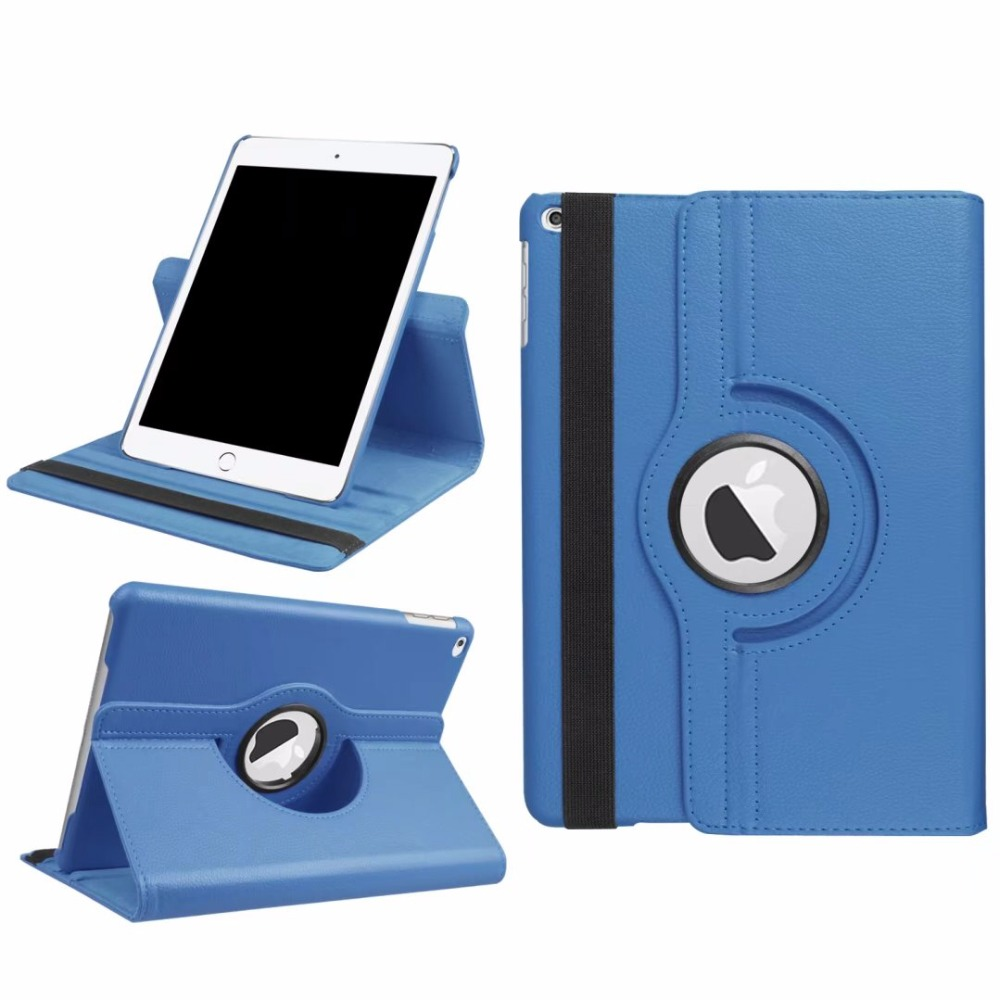 Case For iPad 9.7 2018 2017 Funda 360 Degree Rotating Leather Smart Cover For iPad 5 / 6 / Air 2 / Air Case 5th 6th Generation