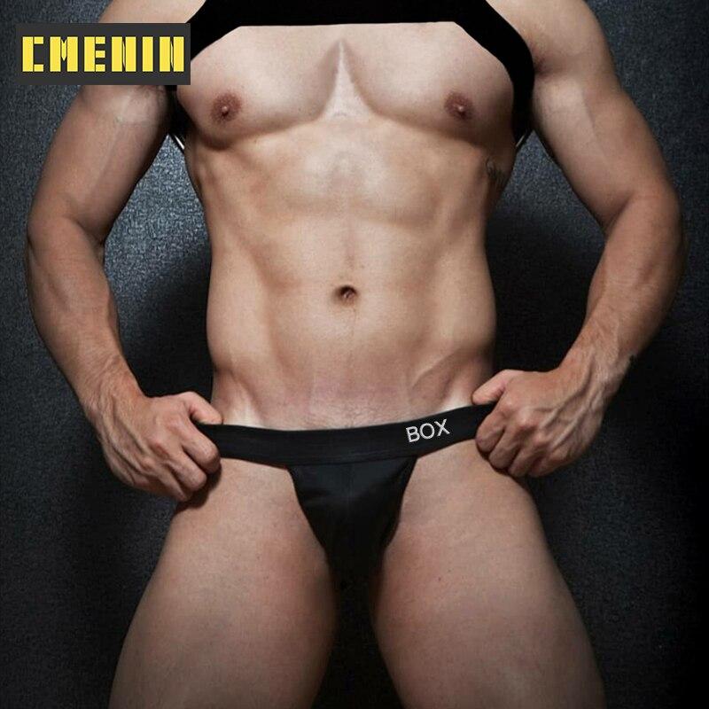 CMENIN bawełna gej seksowna męska bielizna stringi mężczyźni Jockstrap 2021 nowe męskie stringi i struny G bielizna męska OR6603