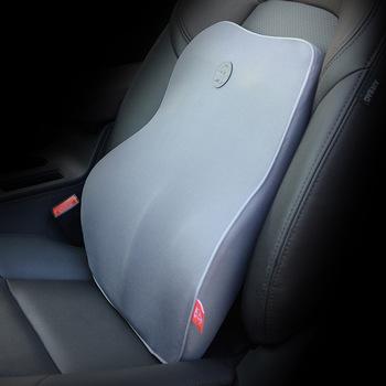 Poduszka podróżna powrót stabilizator lędźwiowy poduszka głęboki dekolt na plecach ból poduszka ortopedyczna akcesoria samochodowe wnętrze poduszka na krzesło tanie i dobre opinie SEEONKA Bawełna pamięci