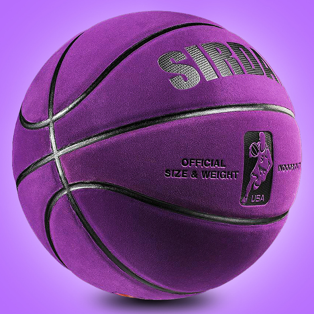 Soft Microfiber Basketball Size 7 6