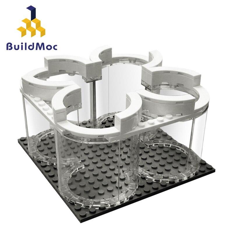 MOC aérospatiale Apollos 11 Saturn V présentoir fusée lancement espace vaisseau spatial ville blocs de construction modèle classique briques Kits