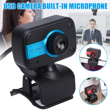 Webcam 480P Full HD USB Desktop Laptop Live Streaming with Microphone VH99