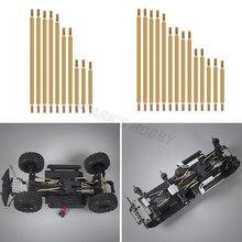 10 шт./14 шт. латунная звеньевая тяга шасси подвеска рулевого сервопривода для 1/10 RC Crawler Traxxas TRX4 TRX6 G63