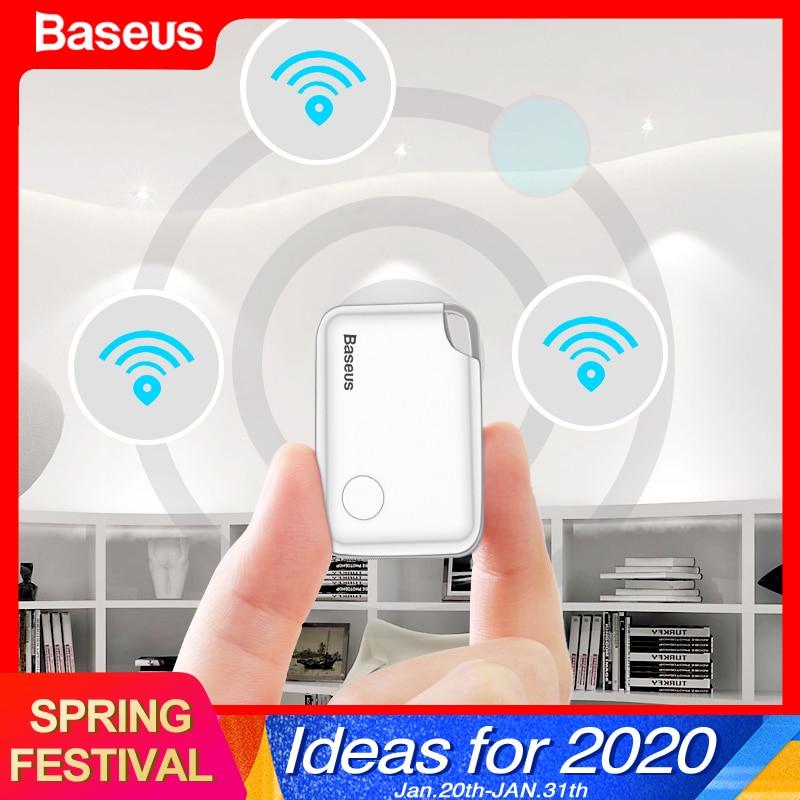 Baseus Mini GPS Tracker Anti Verloren Bluetooth Tracker Für Haustier Hund Katze Schlüssel Handys Kinder Anti Verlust Alarm Smart Tag schlüssel Finder Locator