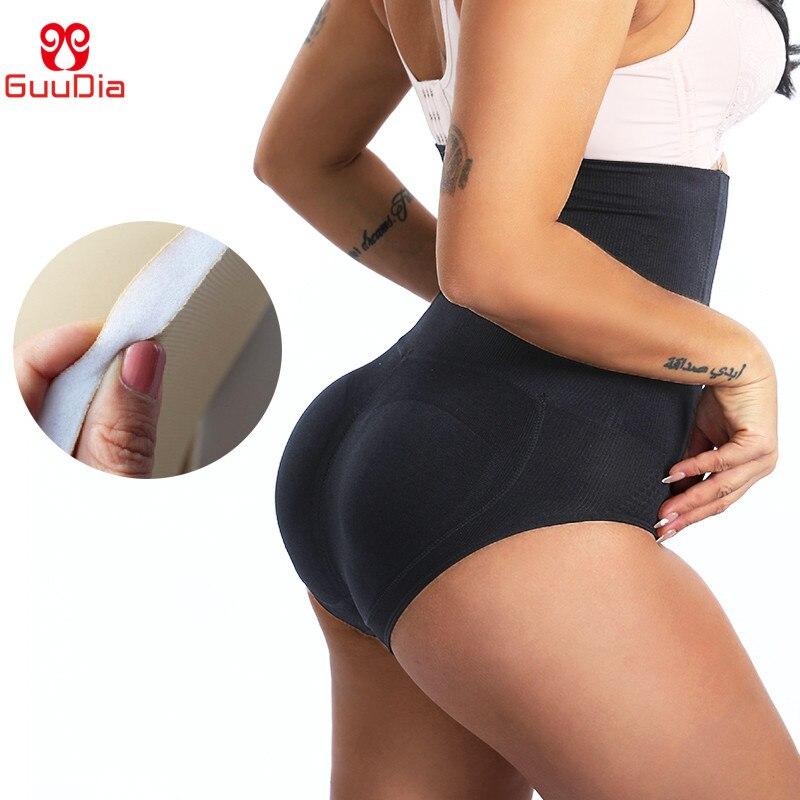 GUUDIA Women's Butt Lifter Shapewear Tummy Control Panties High Waist Body Shaper Hip Butt Padded Booty Enhancer Belly Slimmer