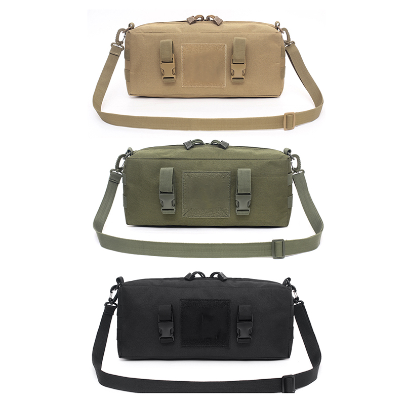 Outdoor Military Tactical Bag Accessories Sports Waist  Shoulder Bags 600D Nylon Molle Camping Pack Hiking Waist Bag