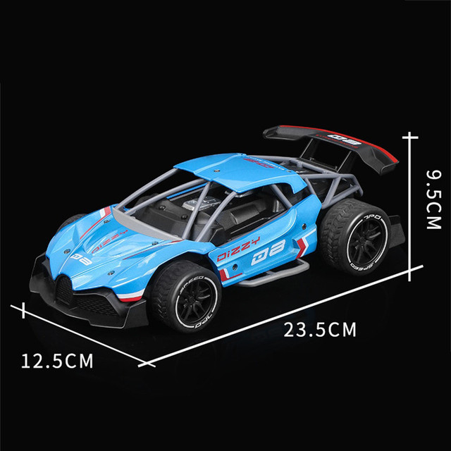 1:16 RC Drift Racing Car 2.4G 2WD Metal High Speed Remote Control 600mAh toys for kids children boys girls gift #C 6