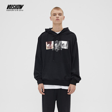 VIISHOW Brand 2019 autumn mens Hoodies high quality Long sleeves Casual print Hoodie cotton men Sweatshirt WD2592193