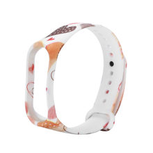 for wearable devices Replacement Silica Gel Wristband Band Strap For Xiaomi Mi Band 4 Bracelet support smartwatch(China)