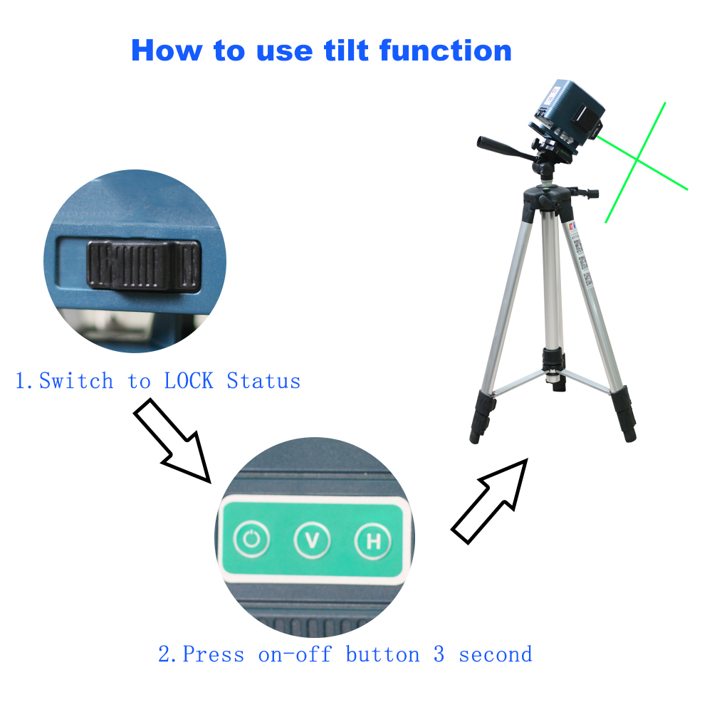 Laser Green Level Line Receiver Amp Nivel Laser Horizontal Vertical Remote Self 12Lines Control Leveling Tripod KaiTian Powerful  3D