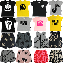 Brand New Summer Girls Boys T Shirt Casual Printing Kids T-Shirt 100% Cotton Children's Tops Baby Boy Tees Short Sleeve Clothes new 2018 brand summer 100% cotton baby boys clothing toddler children kids clothes tees t shirt short sleeve t shirt boys blouse