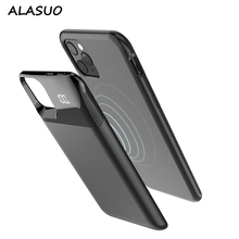 5500mAh/5000mAh External Battery Charger Case for iPhone 11 Pro Max Power Bank Wireless charging Backup Case for iPhone X XS XR battery charger case for iphone xs max xr xs x battery case power bank charging cover for iphone 8 7 plus 6 6s plus charger
