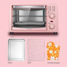 KONKA 13L Electric Oven Multifunction Mini Oven Breakfast Machine Frying Pan Household Bread Pizza Baking Maker for Kitchen Oven