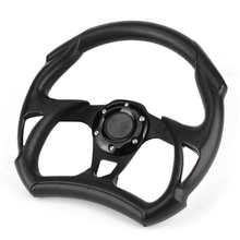 Horn-Button Modified-Part Steering-Wheel Car-Accessories Universal Sport with Black PVC
