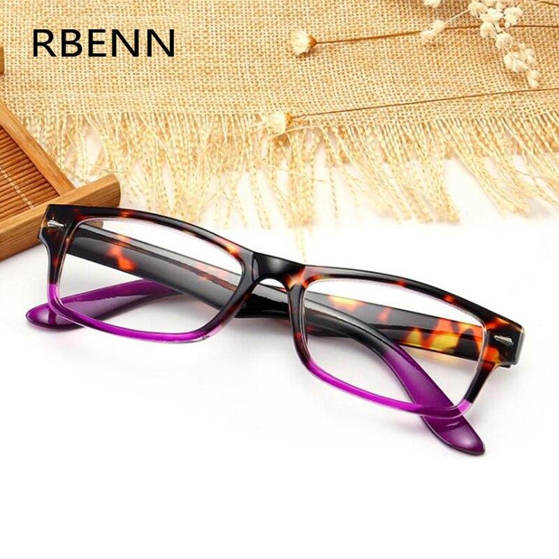RBENN – lunettes de lecture carrées pour hommes et femmes, presbytes avec dioptrie + 1.25 1.75 2.25 2.75 3.25 3.75 4.5 5.0 personnalisées