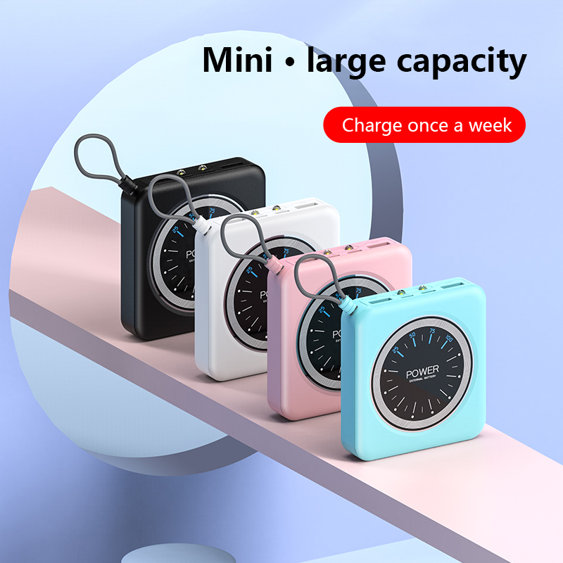 Portable 10000mAh Power Bank Charging With Dual USB Ports For Xiaomi Phones 1