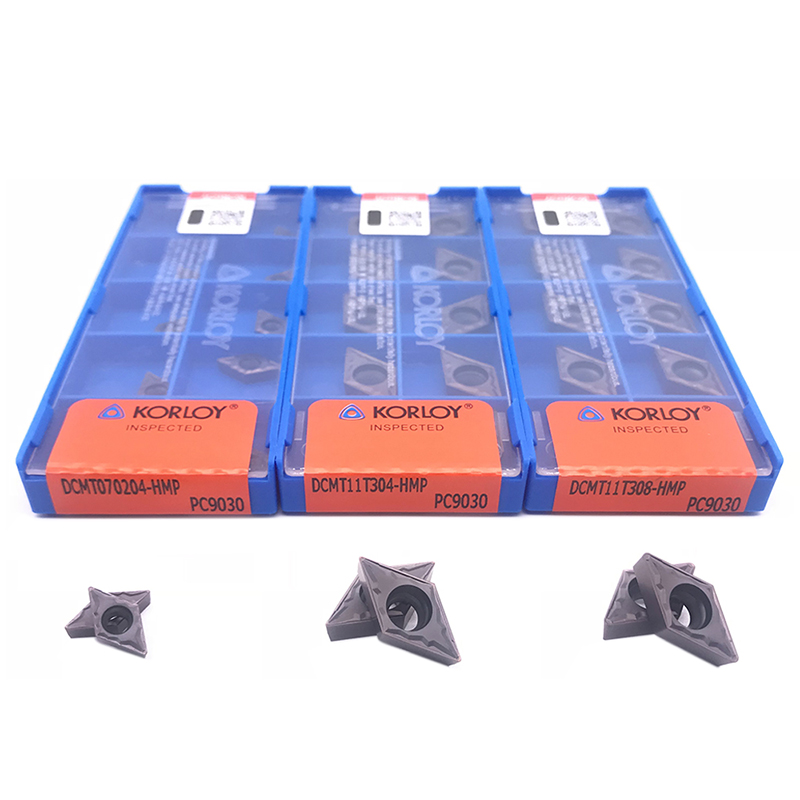 Inserts Original DCMT070204 DCMT11T304 DCMT11T308 PC9030 High Quality Internal Turning Tool Carbide Insert For Stainless Steel