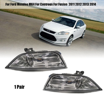 DHBH-Car Fog Light Lamp Covers for Ford Mondeo MK4 Controus Fusion 2011 2012 2013 2014 Front Bumper Driving - discount item  21% OFF Car Lights