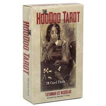 78 adet Hoodoo Tarot kartları İngilizce sürüm Oracle kehanet kader oyunu güverte masa üstü oyunları oyun kartı PDF ile kılavuz
