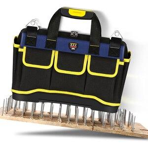 Image 4 - Sac à outils multifonction grande capacité épaissir les outils de réparation professionnelle sac 13/16/ 18/20 sac à outils