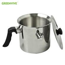 Горшок для воска greenveve из нержавеющей стали 304 л с антипригарным