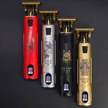 2021 Electric Hair Clipper Hair Trimmer For Men Rechargeable Electric Shaver Beard Barber Hair Cutting Machine For Men Hair Cut 1