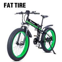 Electric bike 1000W Electric Fat Bike Beach Bike Cruiser Electric Bicycle ebike electric mountain bike electric folding bike