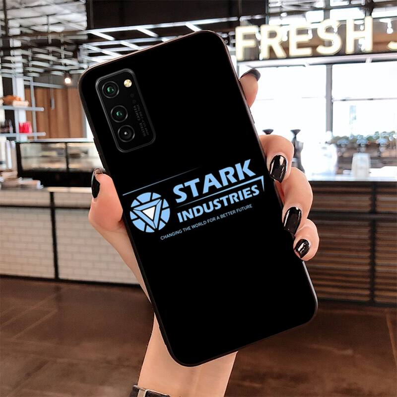 CUTEWANAN Stark Industries Avengers Ironman Phone Case Capa for Samsung S20 plus Ultra S6 S7 edge S8 S9 plus S10 5G lite 2020