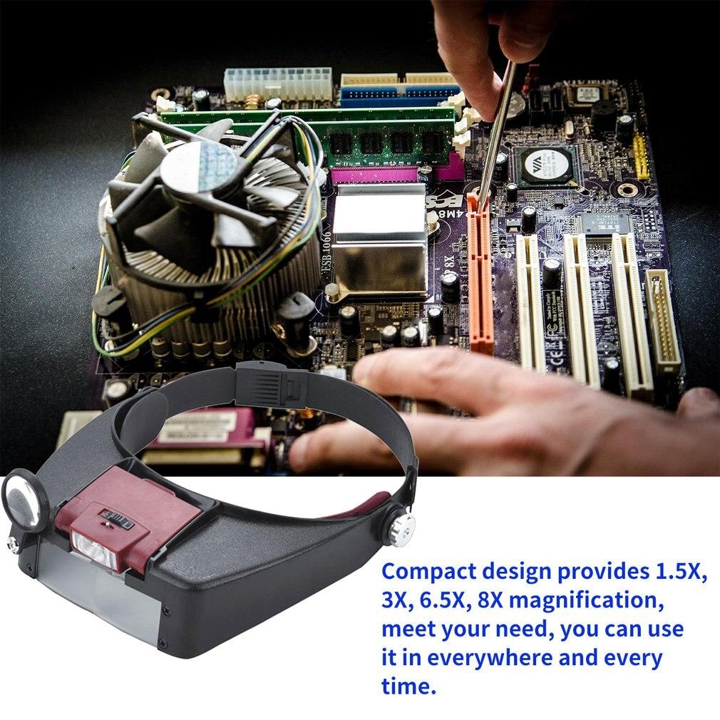 automático para reparação de joias e relógios, 1.5x 3x 6.5x 8x