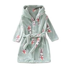 Фланелевый банный халат с капюшоном и героями мультфильмов для маленьких мальчиков и девочек, ночная рубашка, одежда для сна детский банный халат, банный халат для маленьких мальчиков и девочек,#2