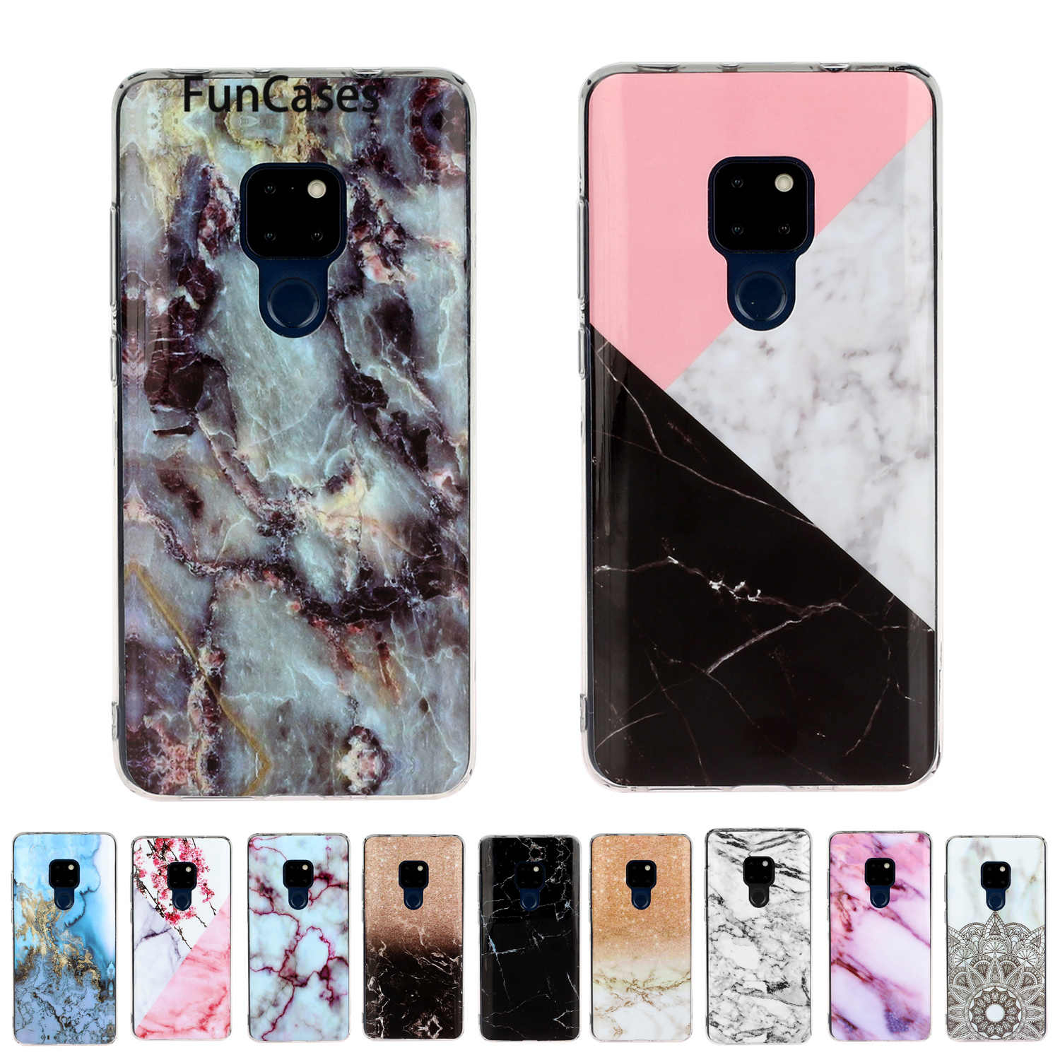 Holsters Clips Cases For Huawei Honor 8C Newest Soft TPU Shell Caso Huawei Mate 20 Y7P P Smart 2020 P40 Y5P Y6P Lite 5G Honor 8X