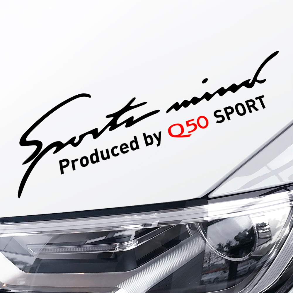 Funny Car Stickers Lamp Eyebrow For Nissan Infiniti Q50 Auto Decoration Vinyl Waterproof Car Stickers And Decals Car Accessories