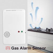 Домашняя безопасность 85 дБ настенный детектор утечки природного газа Тестер датчик сигнализации
