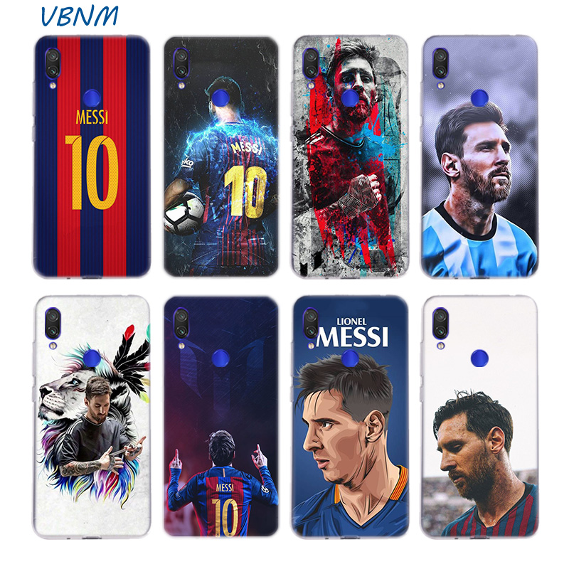 Football Star Number Ten Silicone Case For Xiaomi Redmi Note 8 7 6 Pro 5 4 4X K20 7A S2 5A 6A Y3 Xiomi A3 9T 9 SE F1 S2 Cover image