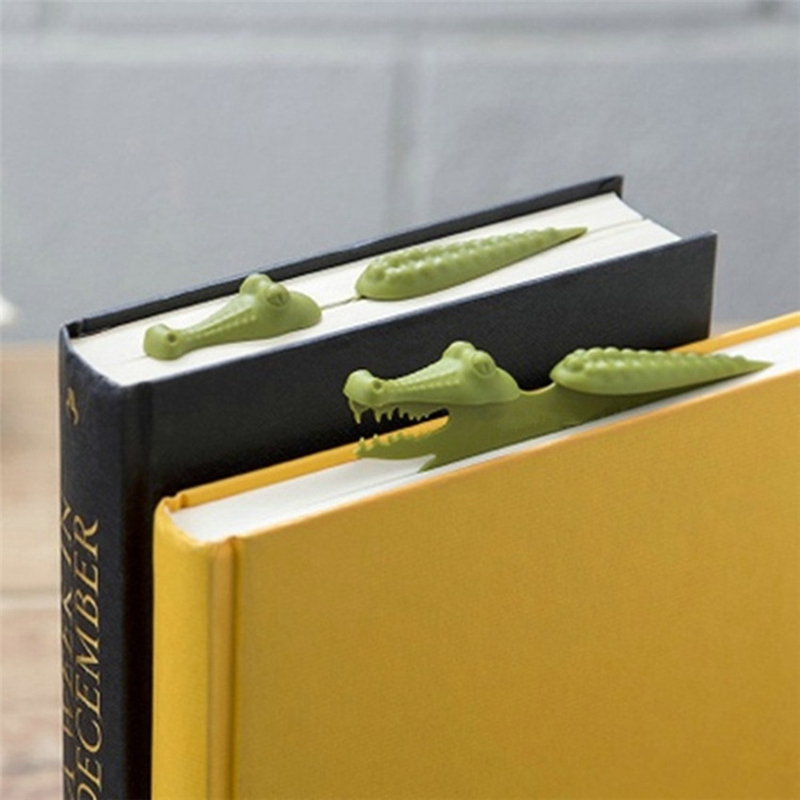 Cute Hippo Animal Bookmark Reading Bookmarks 3D Cartoon Book Markers Page Holder