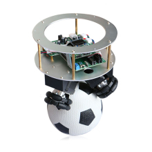 Ball balancing robot Single ball standing ballbot spherical self-balancing supports secondary development diy