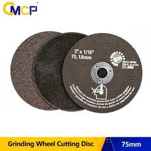75mm taşlama tekerlek kesme diskleri 75mm dairesel testere bıçağı Metal kesme Fiber kesme diski aşındırıcı aletler