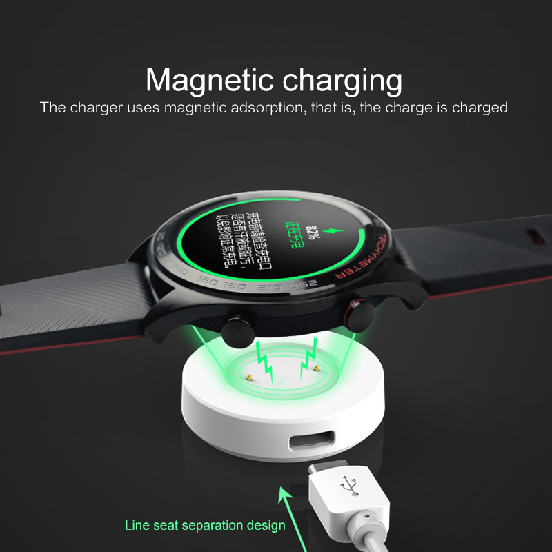 Charger Cable Smart Watch Accessories 2 In 1For Huawei GT Honor Dock Smartwatch Charger Cable Watch Magnetic Charging Cable